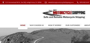 Simplymotorcycleshipping.com