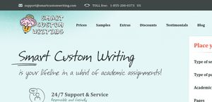 Custom writing website