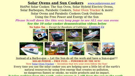 SolarOvens.net