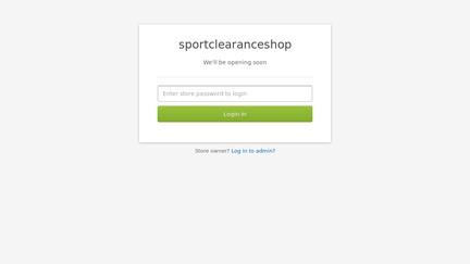 Sportclearanceshop.mybisi.com