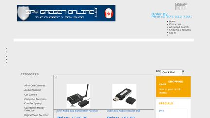 SpyGadgetOnline.ca