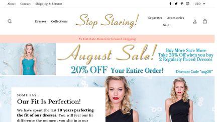Stop Staring Clothing