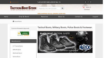 TacticalBootStore