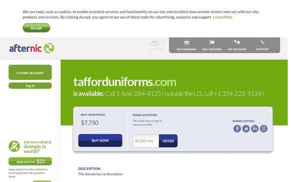 TaffordUniforms