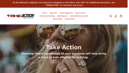 Take Action Apparel & Gear