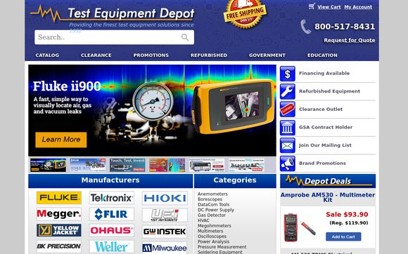 Test Equipment Depot