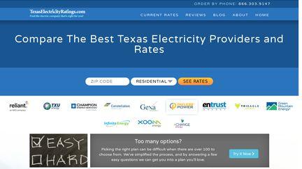 TexasElectricityRatings.coma N