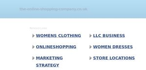 The-online-shopping-company.co.uk