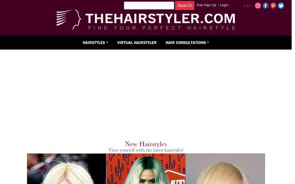 Thehairstyler.com