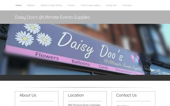 Daisy Doo's @Ultimate Events Supplies
