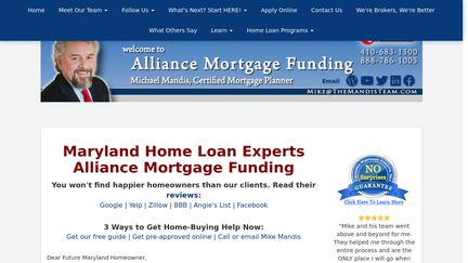 Alliance Mortgage Funding, Inc.