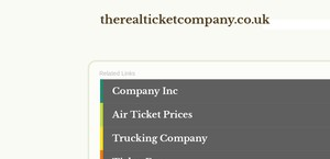 Therealticketcompany.co.uk