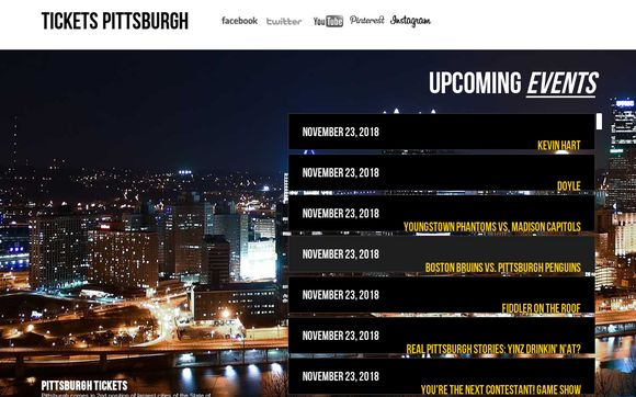 Ticketspittsburgh.org