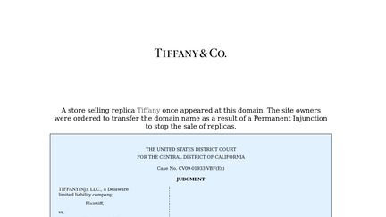 Tiffanys Co