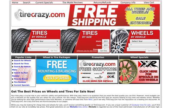 TireCrazy.com