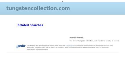 Tungstencollection.com