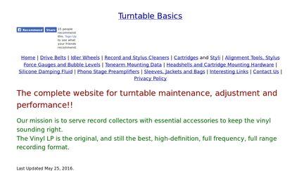 Turntable Basics