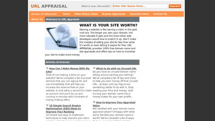 URL Appraisal