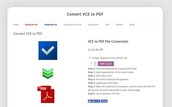 VCE2PDF
