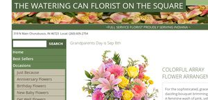 Wateringcanflowers.com