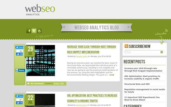 Web SEO Analytics
