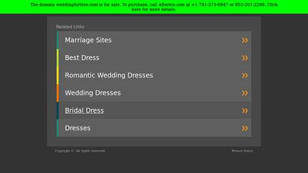 Weddingforlove