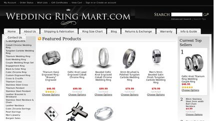 Wedding Ring Mart.com