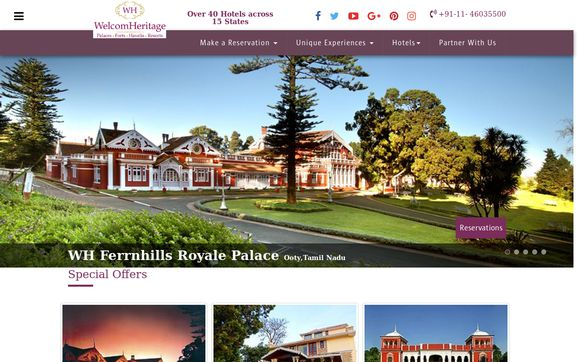 WelcomHeritageHotels.in