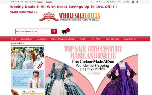 Wholesale Lolita