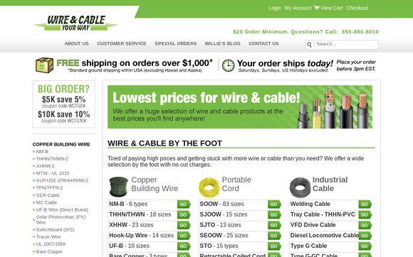 WireAndCableYourWay.com