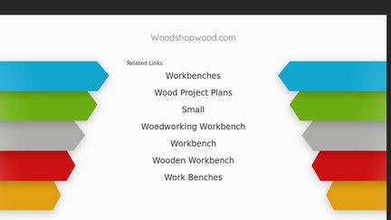 Wood Shop Wood