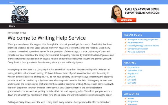 WritingHelpServices