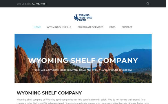 Wyoming Shelf Company